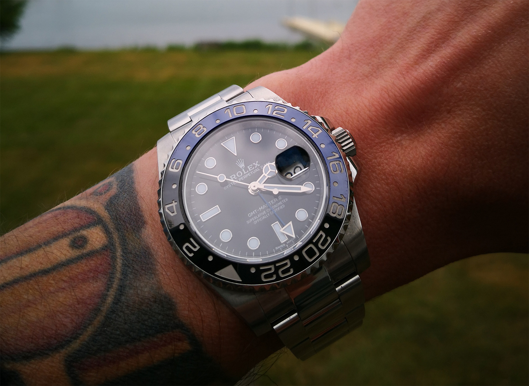 Spending some quality time with the Rolex 116710 BLNR Batman