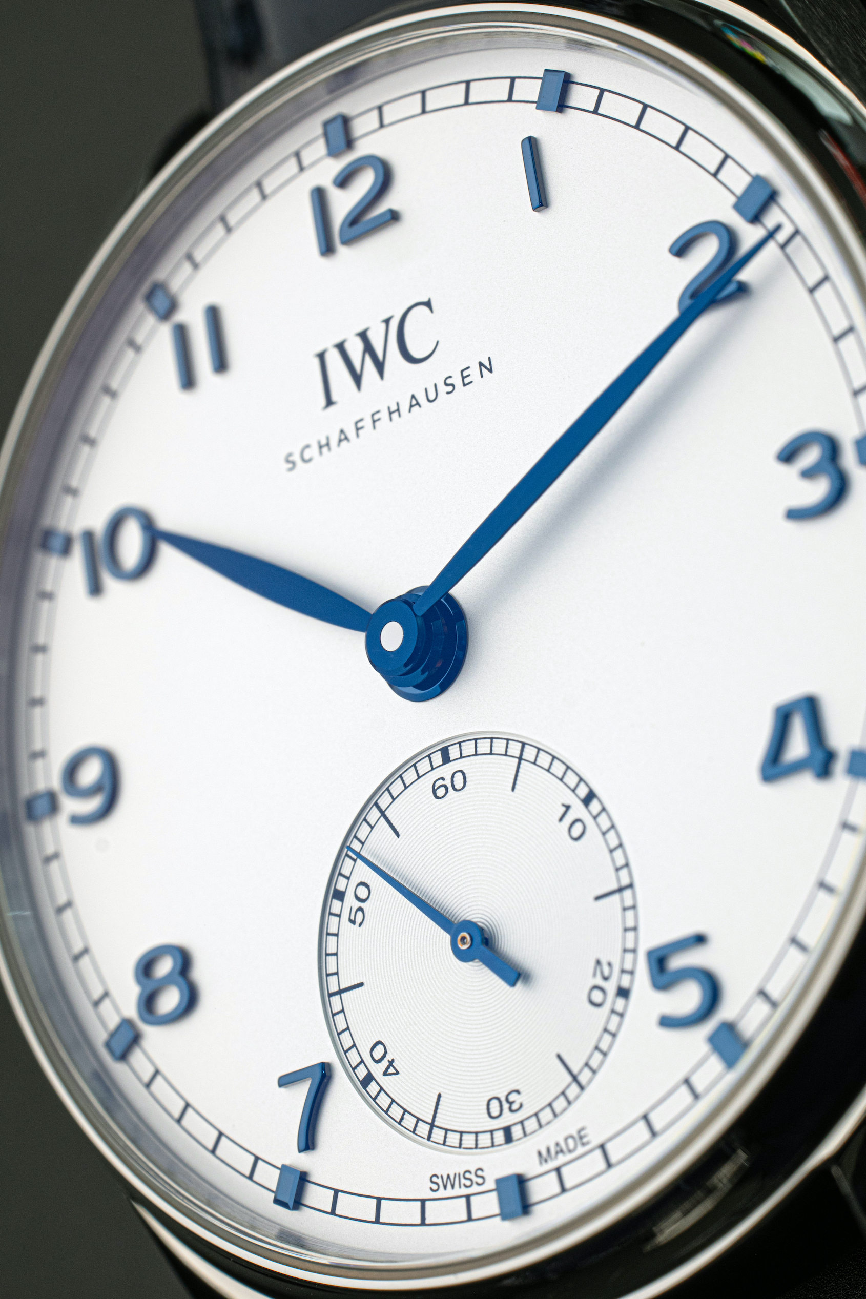 HANDS-ON: The elegance and nuance of the IWC Portugieser 2020 Collection in the metal