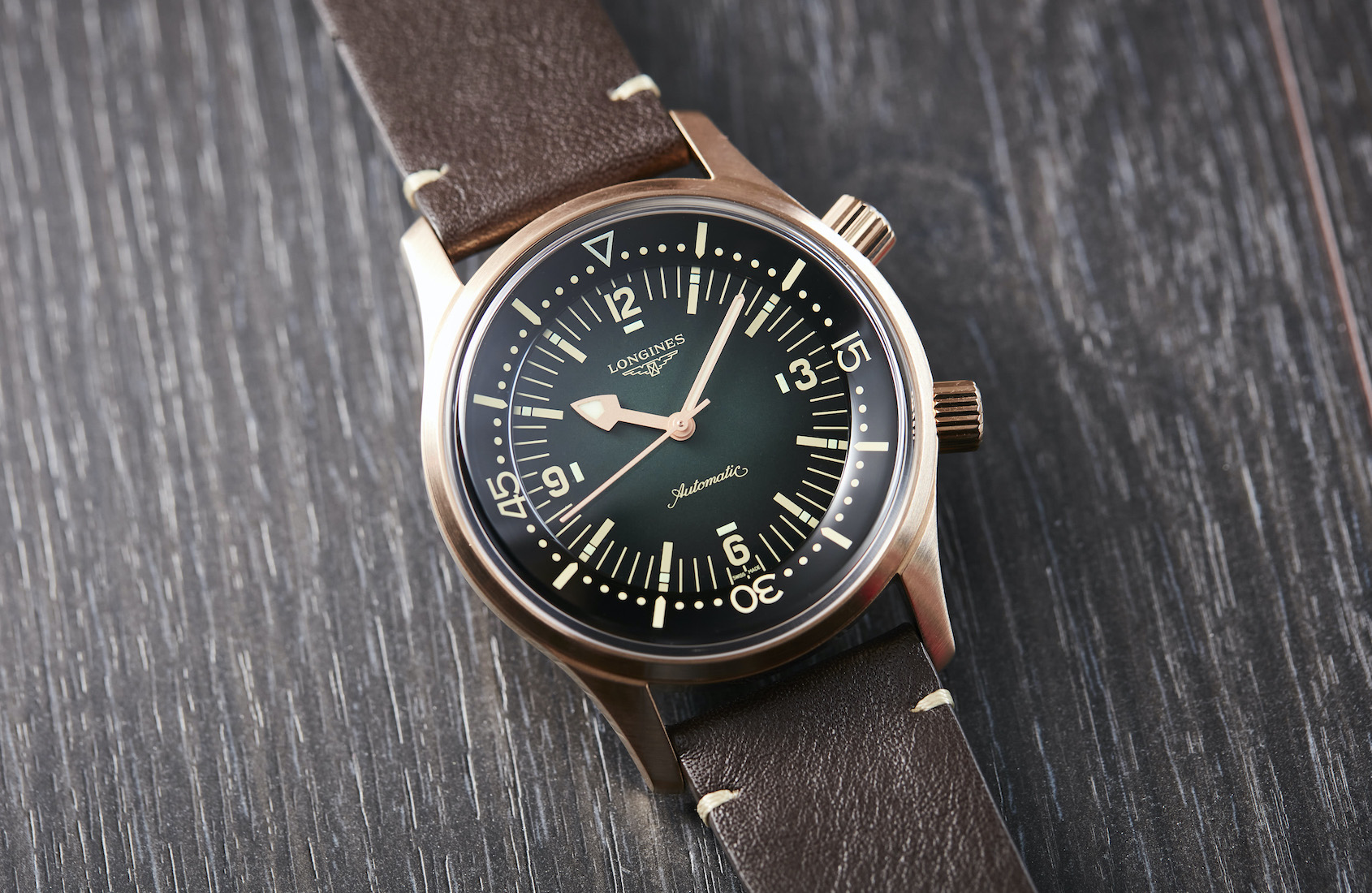HANDS-ON: The Longines Legend Diver Bronze makes warm metals cool again