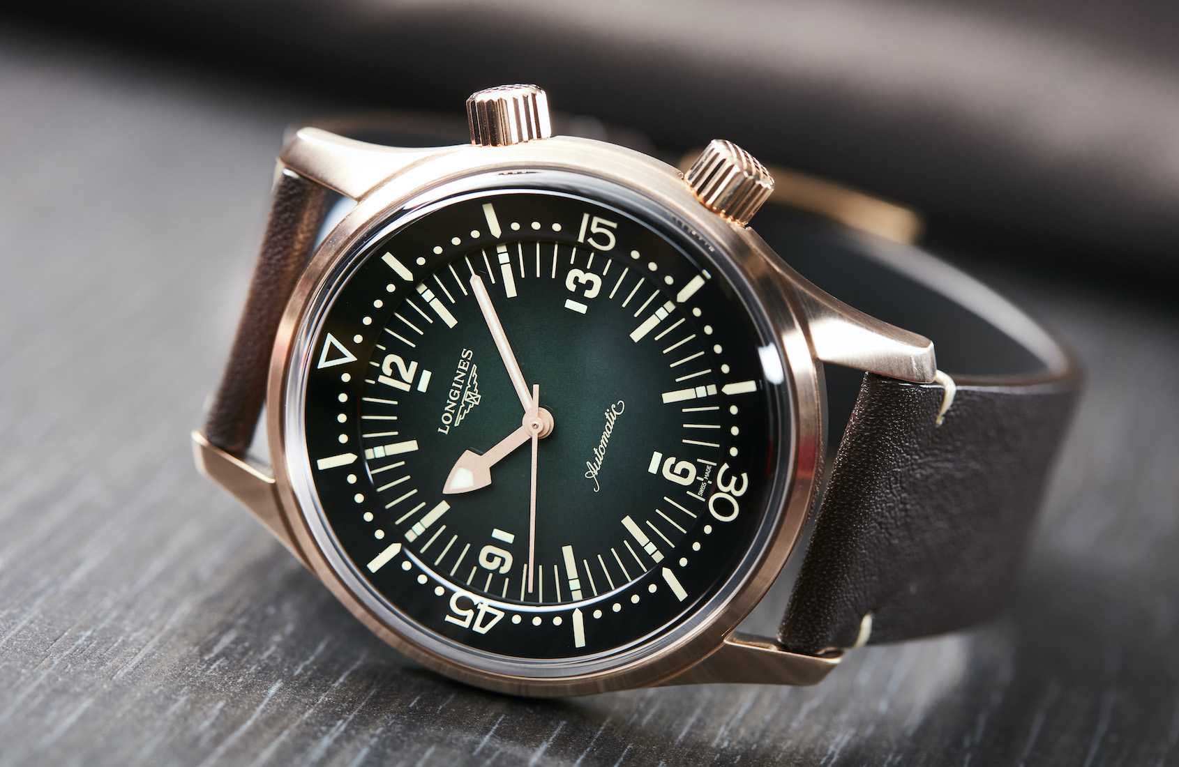 VIDEO: The Longines Legend Diver Bronze is a sleeper hit in the crowded retro diver field