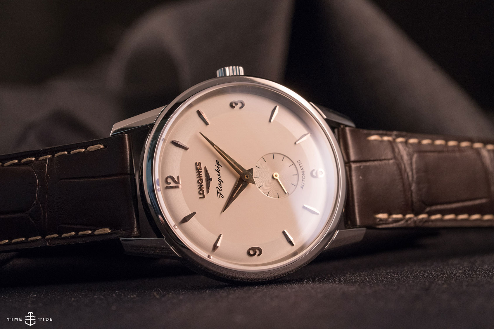 Another look at the Longines Flagship Heritage 60th Anniversary