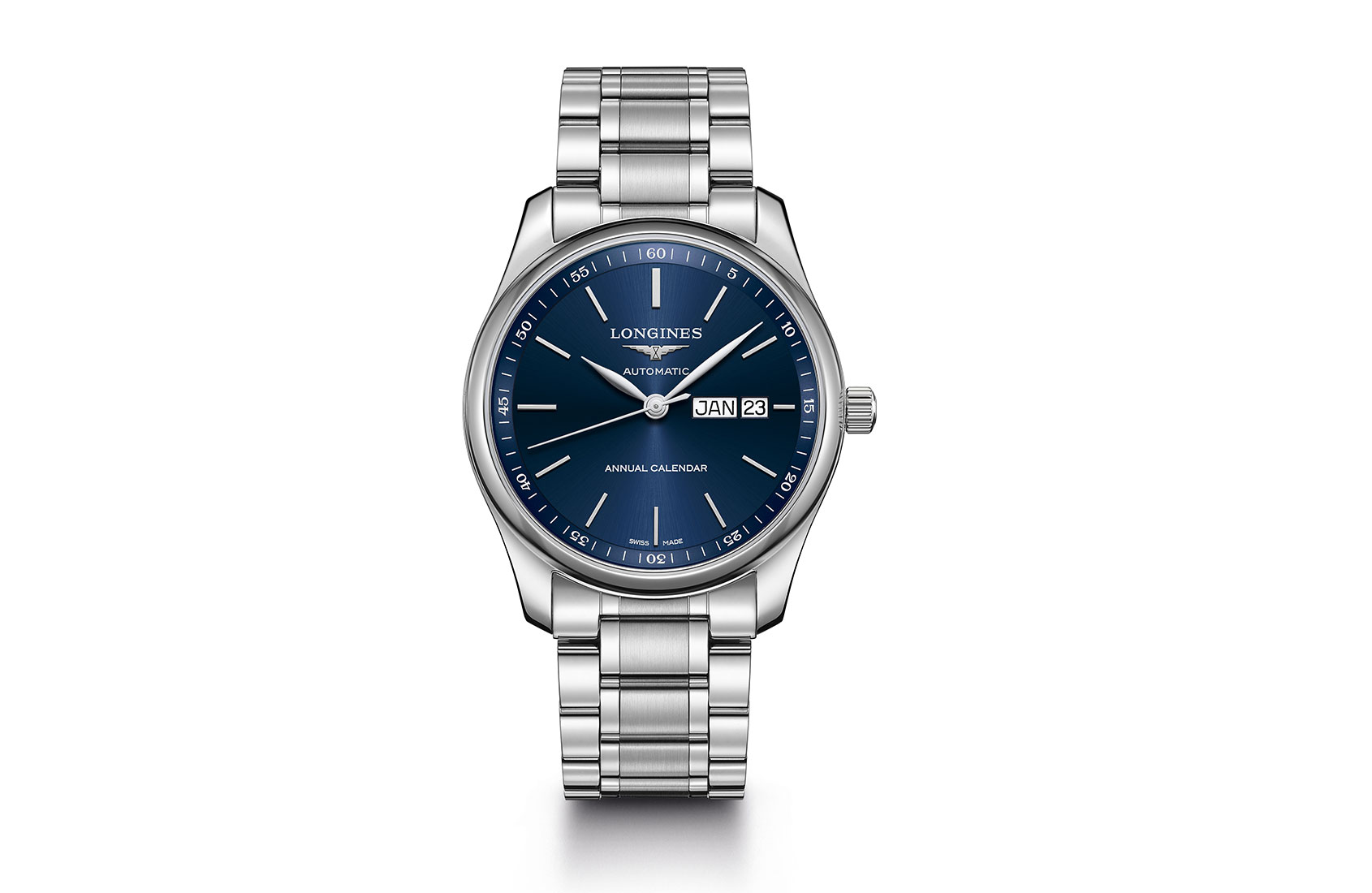INTRODUCING: The Longines Master Collection Annual Calendar, their first ever annual calendar