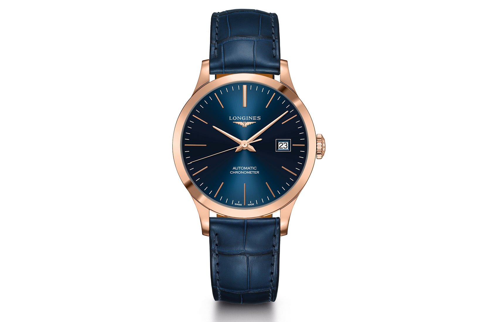 INTRODUCING: The COSC-Certified Longines Record Collection gets a luxe extension