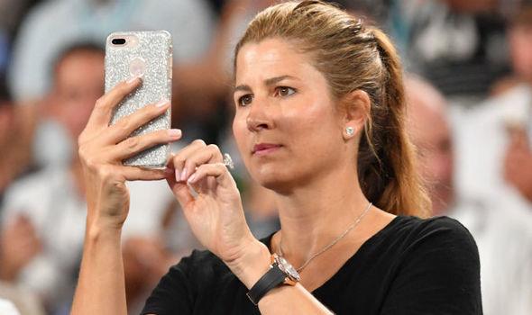 WATCHSPOTTING: Forget Roger's Sky-Dweller – Mirka Federer's Rolex Yacht-Master is next level