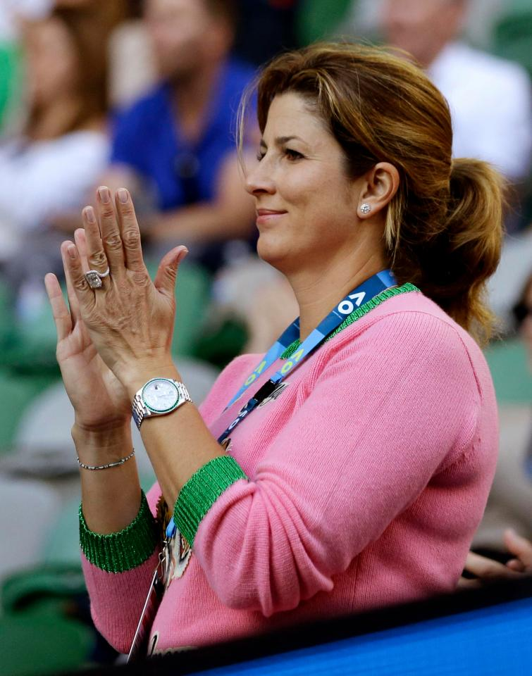 WATCHSPOTTING: Forget Roger Federer's Rolex Batman – his wife Mirka's Day-Date is the real champion