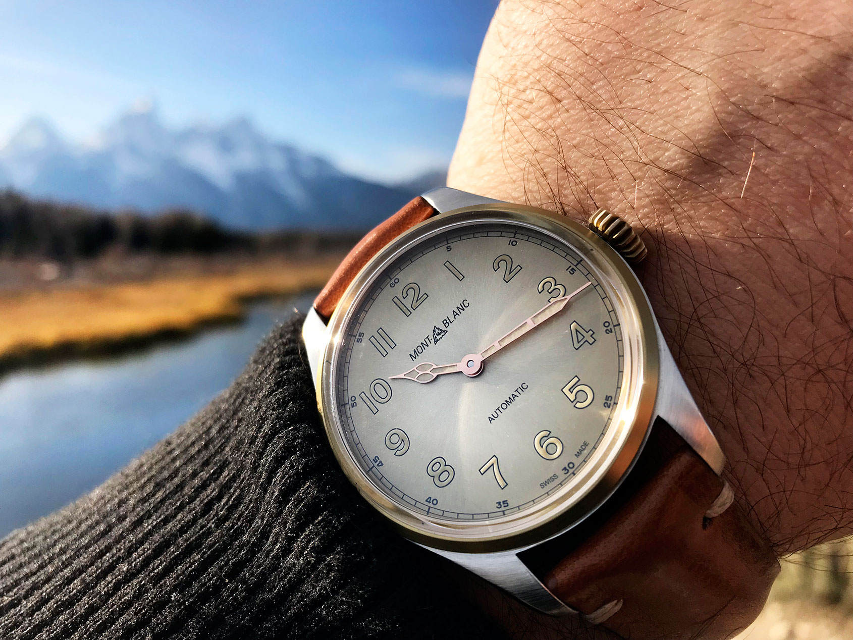 The rugged charm of the Montblanc 1858 Automatic