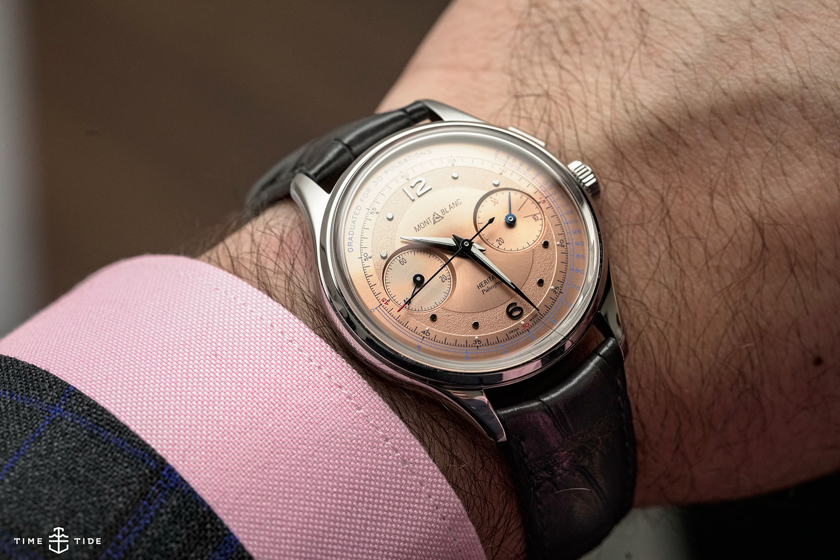 Heritage perfection, the Montblanc Heritage Pulsograph