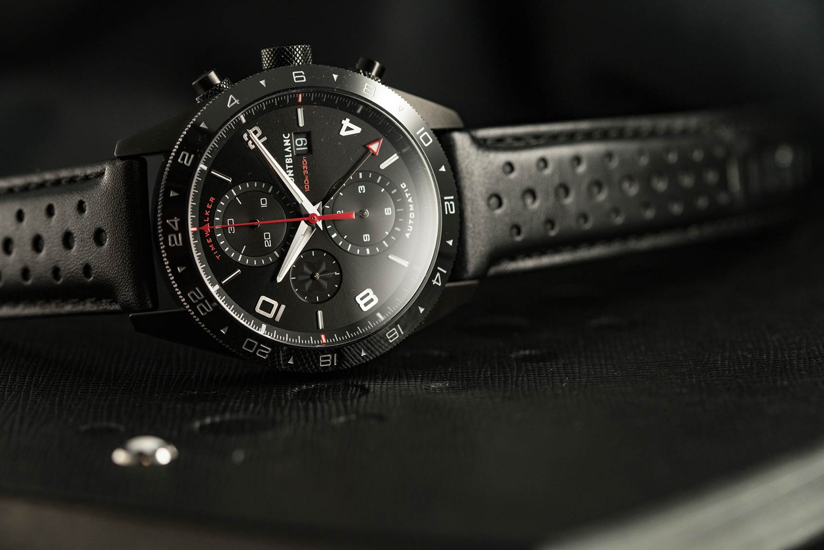 INTRODUCING: A racy traveller – the Montblanc TimeWalker Chronograph UTC