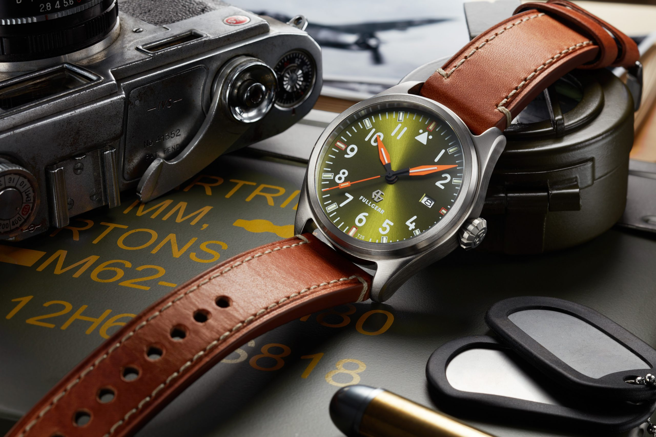 MICRO MONDAYS: The FullGear Pioneer – a customisable pilot watch featuring tritium tubes, launching this week