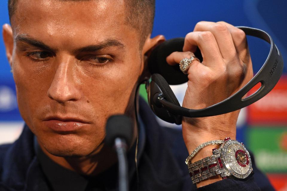 VIDEO: Diamonds, rubies and Ronaldo, 4 Franck Muller watches worth $7m