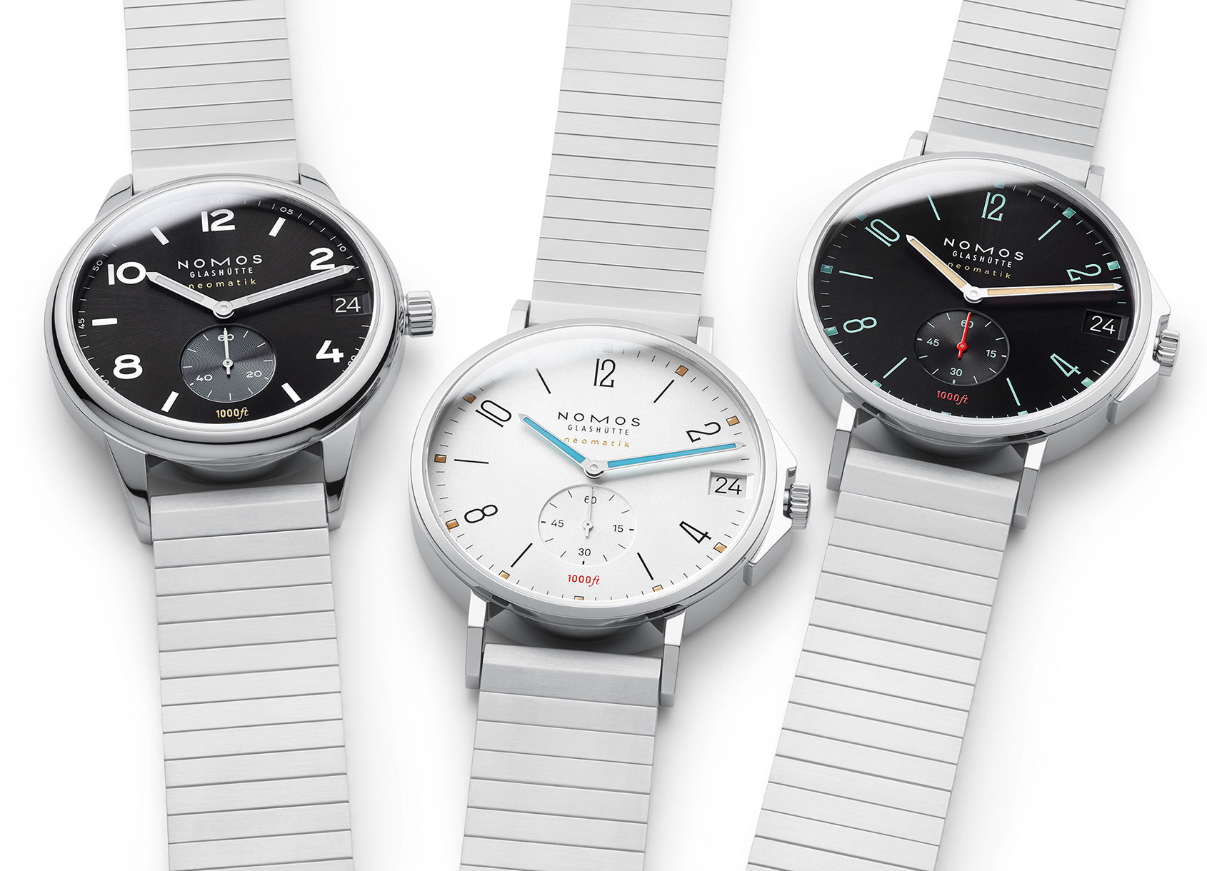 Nomos flex their muscles with their new Club and Tangente Sport models