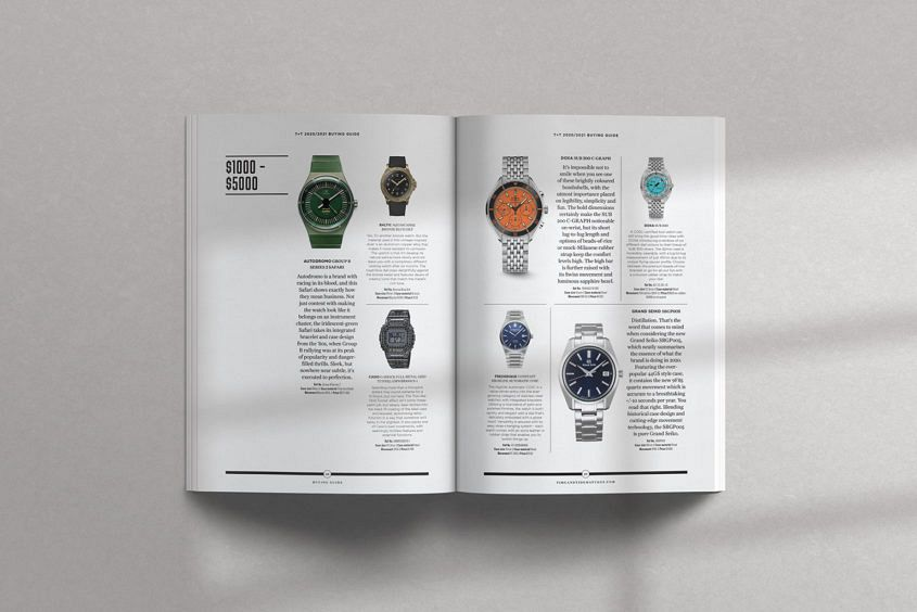 buy time and tide magazine now