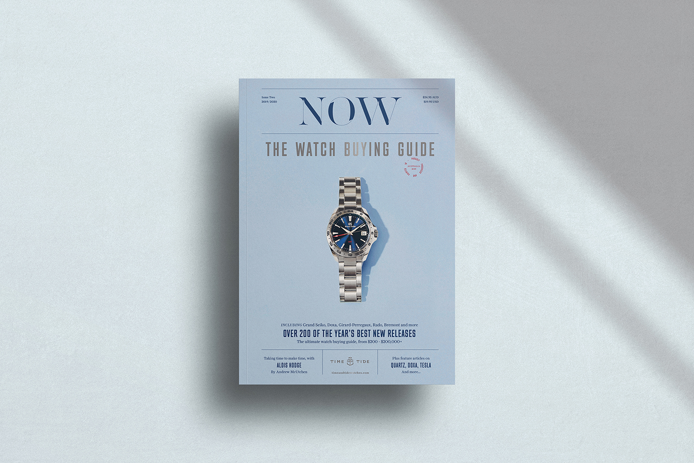 INTRODUCING: Time+Tide's NOW Magazine Edition 2, now available in the shop