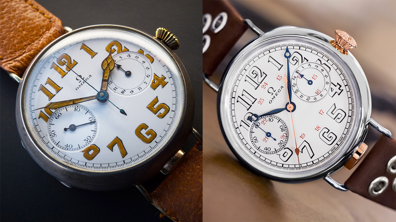 VIDEO: Hang on, Omega have put century-old movements in 'new' watches, and you can actually buy them?