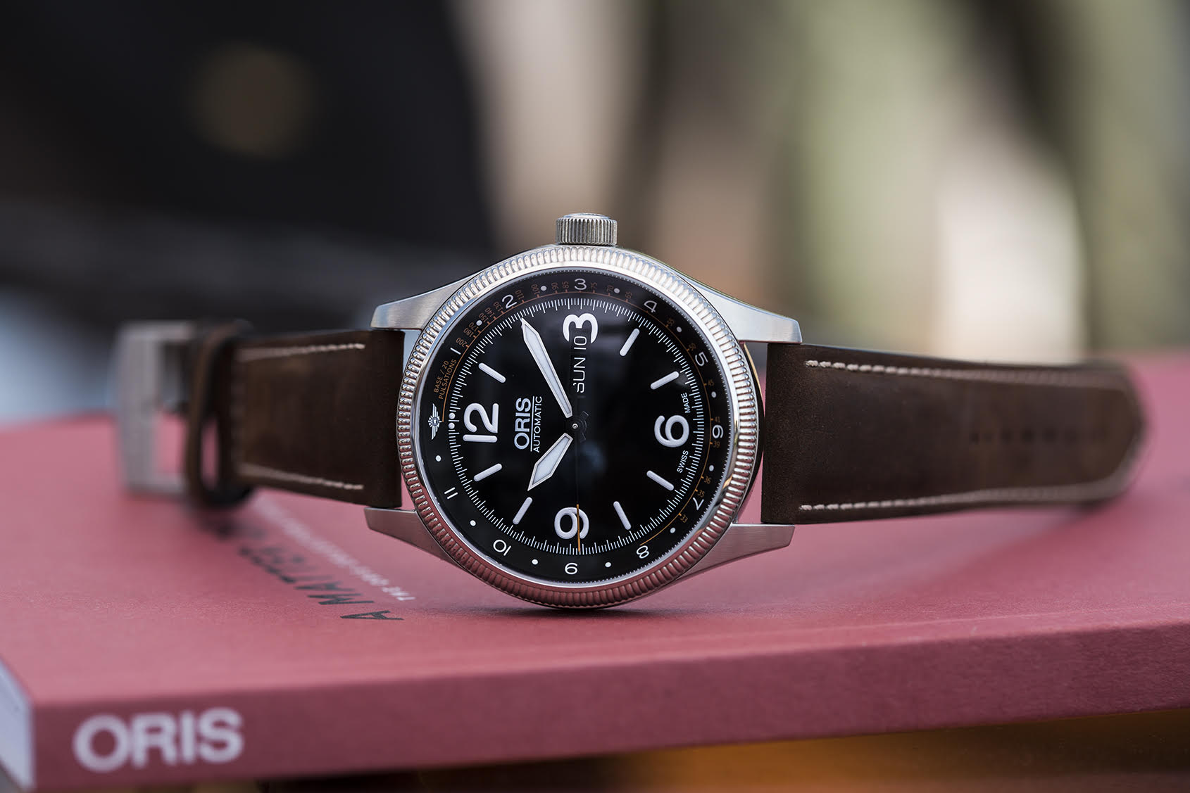 WIN: An Oris Royal Flying Doctor Service Limited Edition II and help fight motor neurone disease