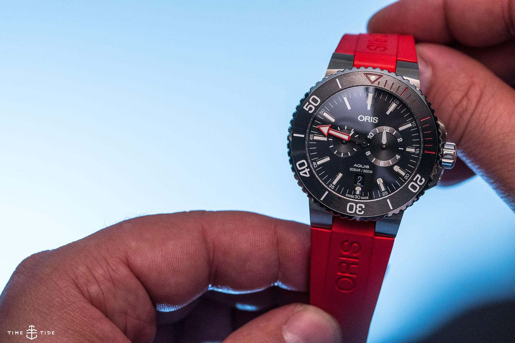 INTRODUCING: A different kind of dive watch – the Oris Regulateur 'Der Meistertaucher'