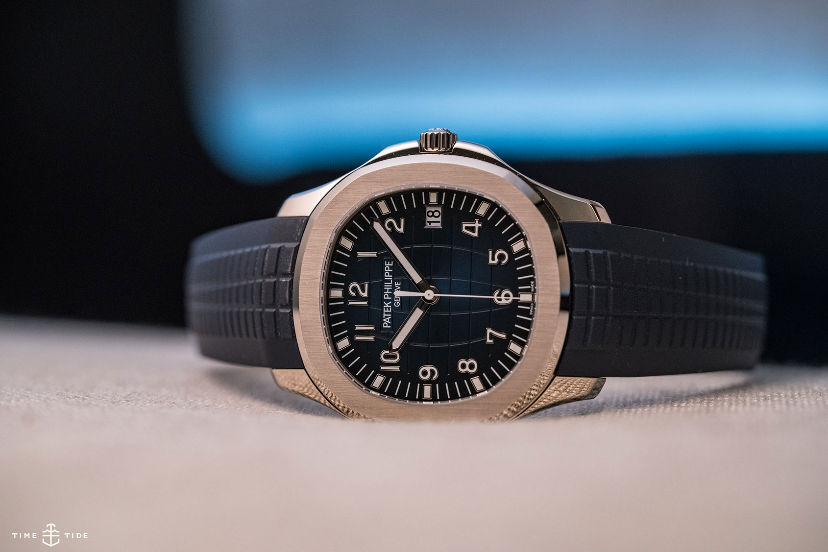 INTRODUCING: Coming of age – the Patek Philippe 20th Anniversary Aquanaut Ref. 5168G