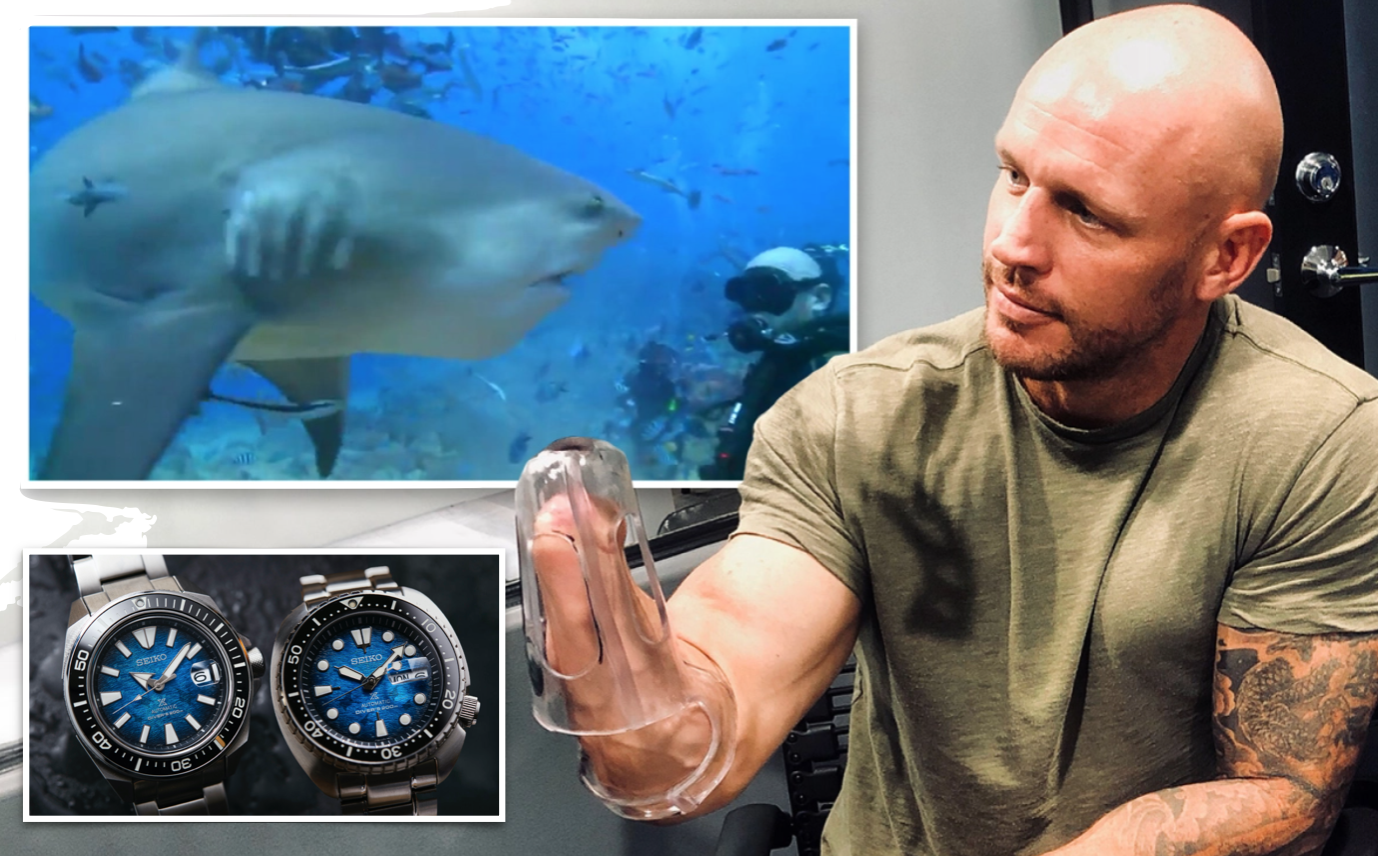 The shark attack victim, who has become a Seiko ambassador, relives that fateful day in Sydney Harbour when he lost two limbs…