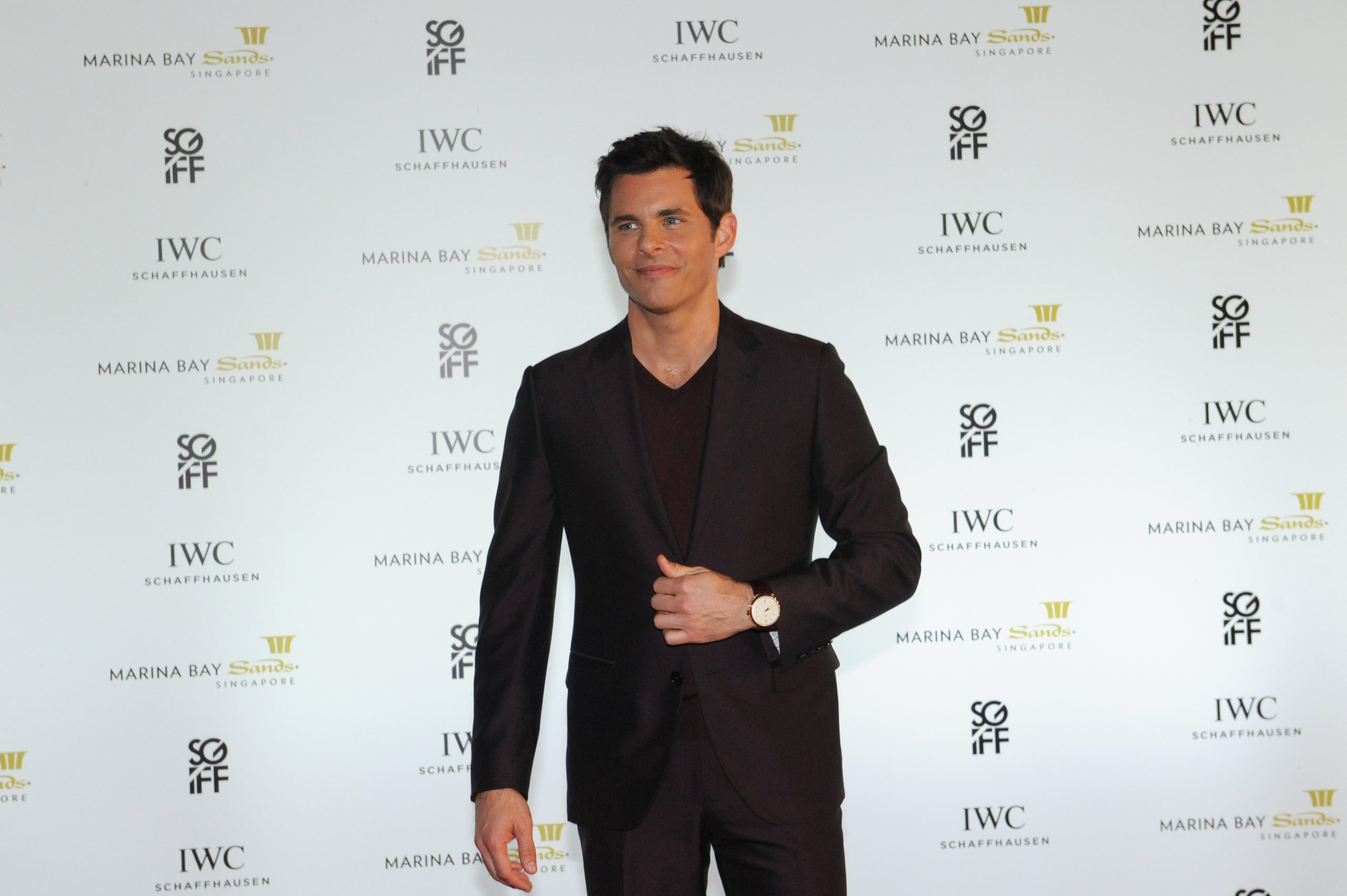 James Marsden has no time for safe queens and thinks a $150,000 watch is meant to be worn