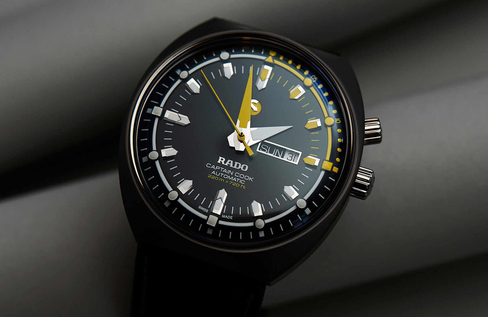 Looking back to the future with Rado's Captain Cook Mark III