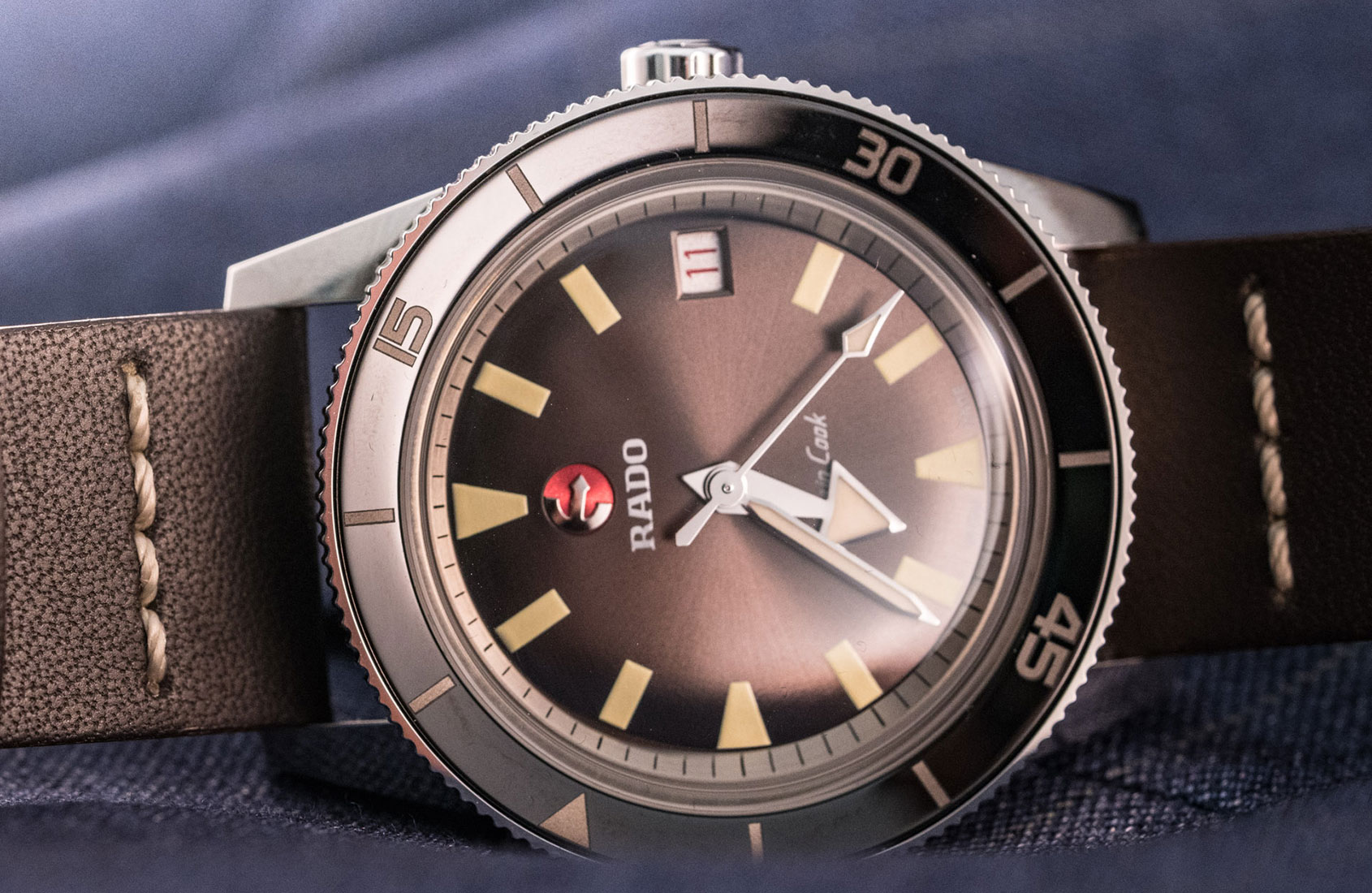 HANDS-ON: The Rado HyperChrome Captain Cook, a cheeky '60s reissue that swings both ways