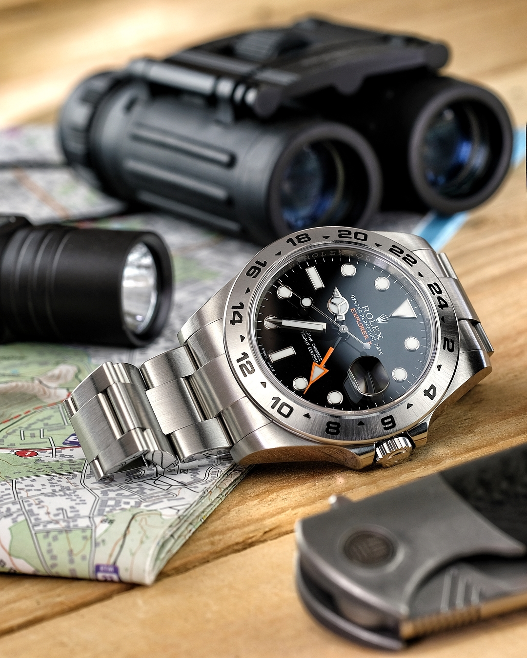 IN-DEPTH: The Rolex Explorer II Ref.216570, sleeper classic or on the brink of extinction?
