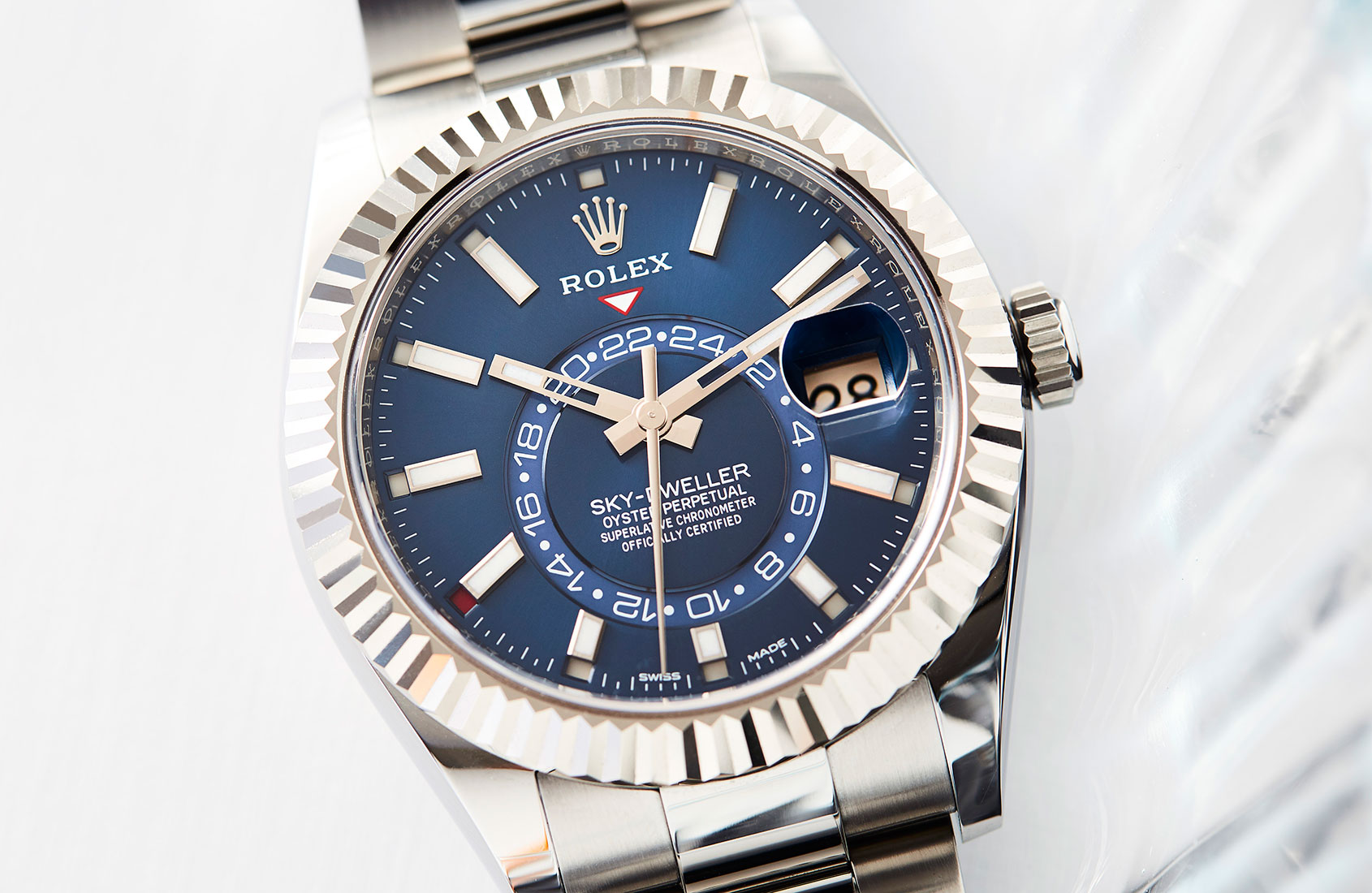 Rolex reach for the skies with the Sky-Dweller
