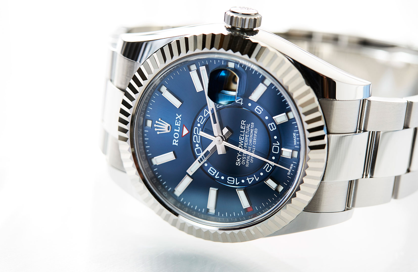 IN-DEPTH: The 2017 Rolex Sky-Dweller is getting better with age, and these pictures and video prove it