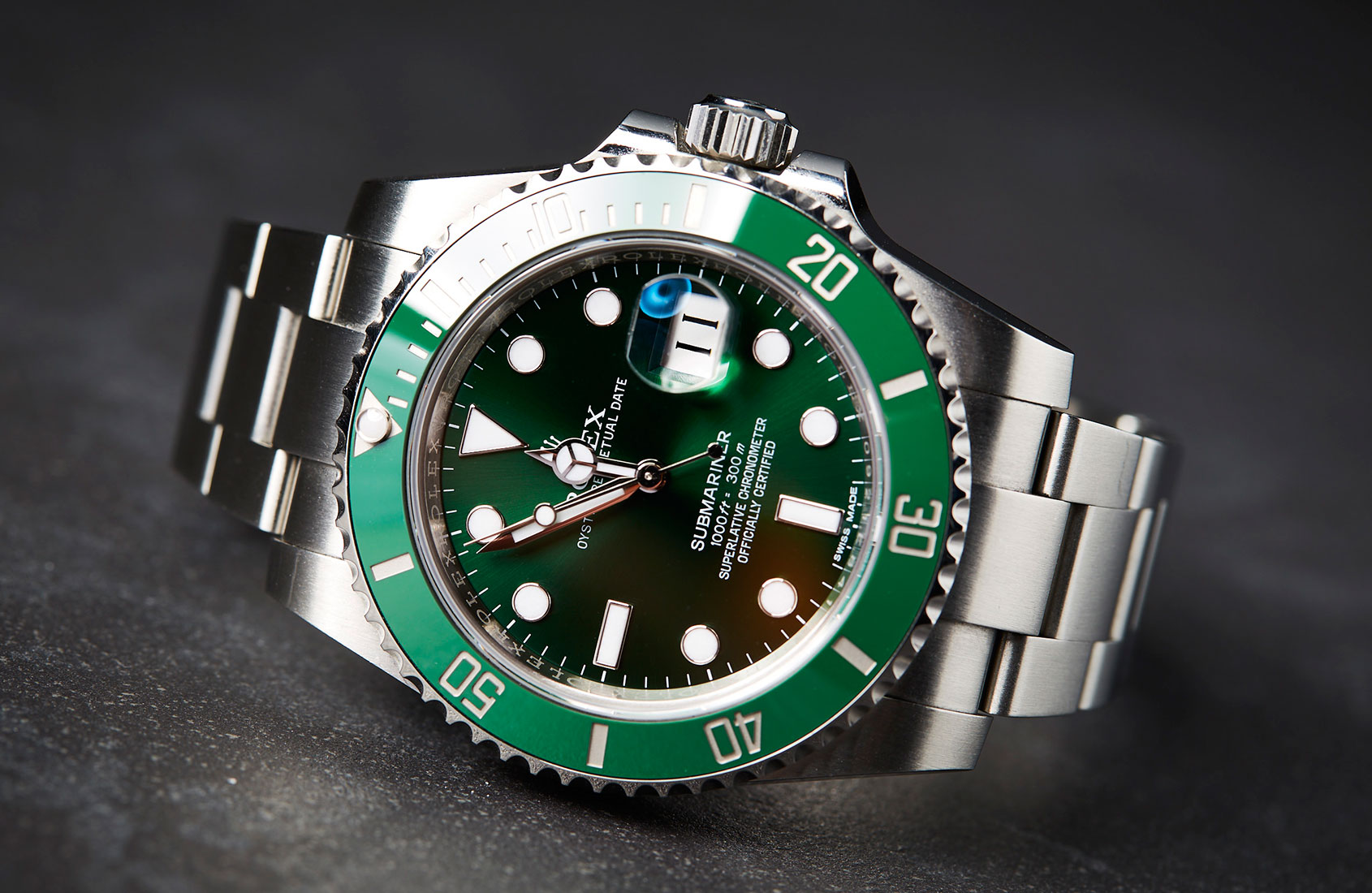 Get your hands on a Rolex Hulk (right now) and don't be left green with envy