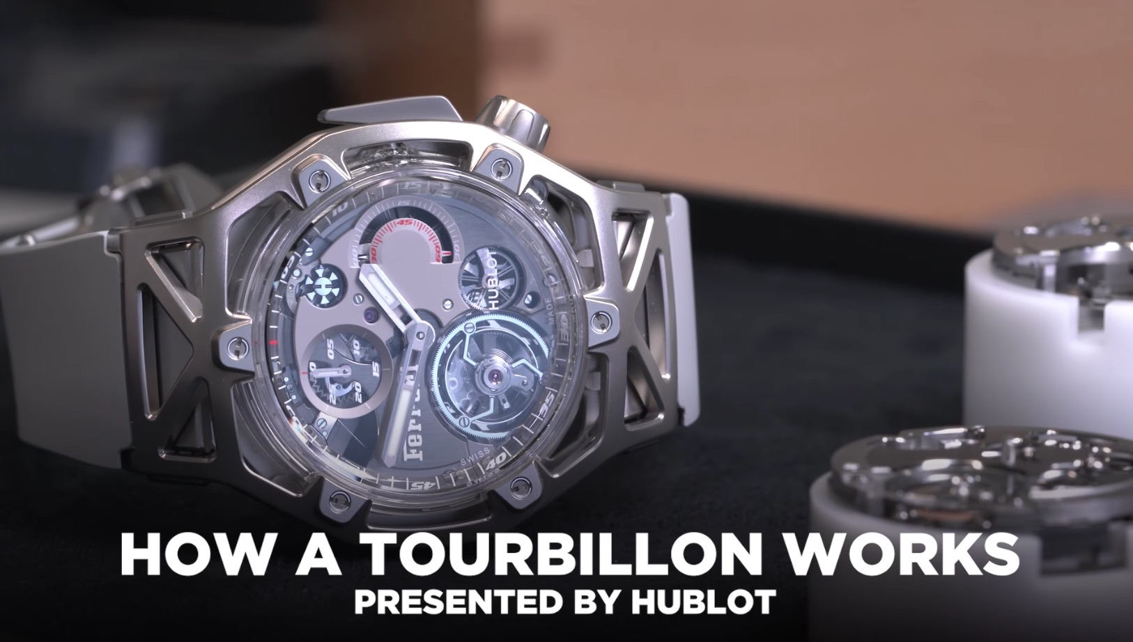 VIDEO: Pulling apart a Hublot tourbillon cage to see how it works