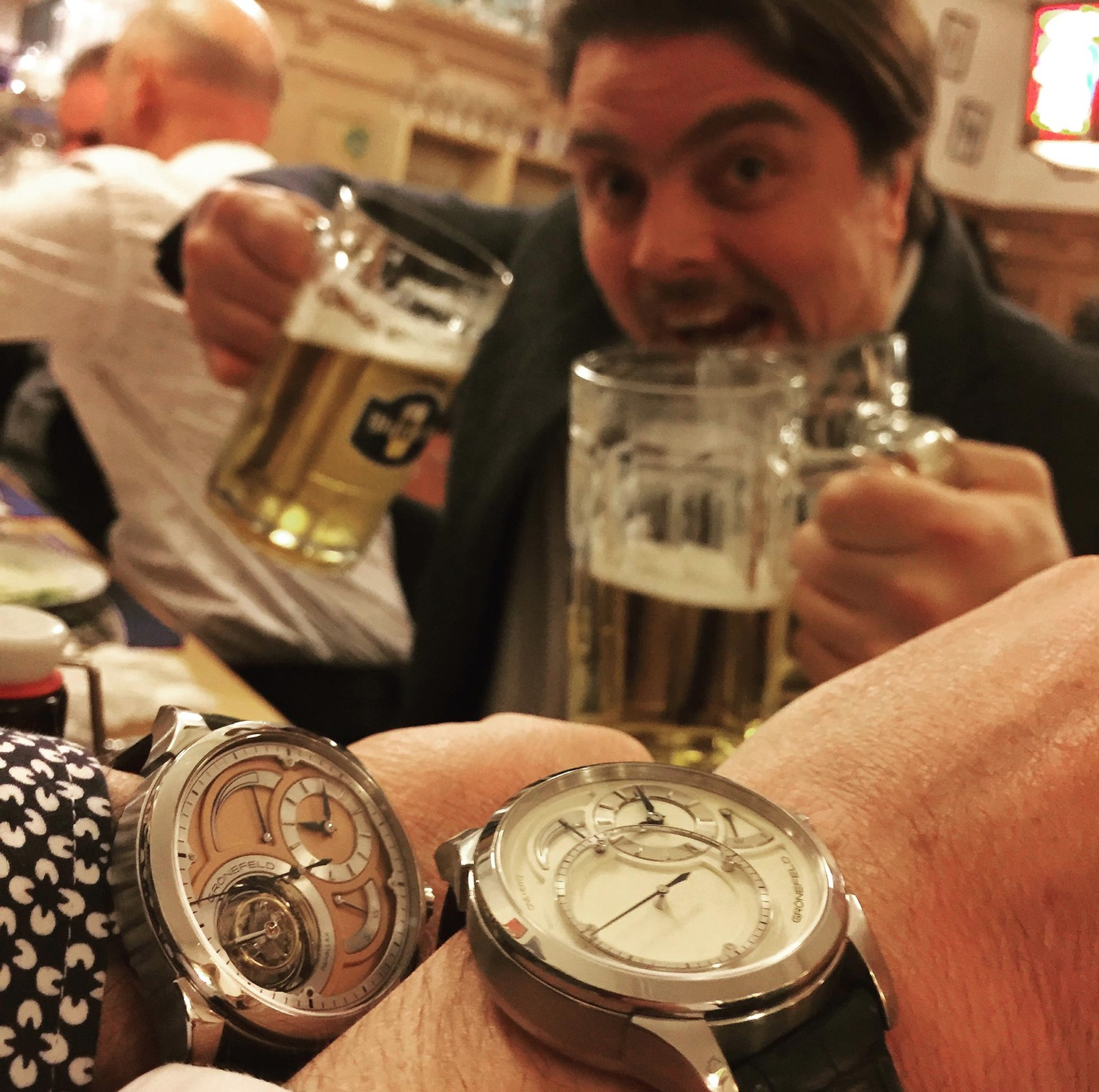 What is the 'Baselworld Schnitzel Dinner', and why does it matter?