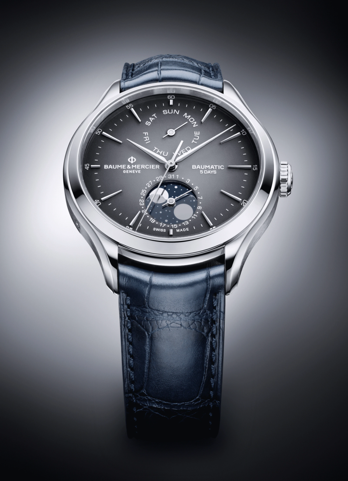 EDITOR'S PICK: Great value complications – the Clifton Baumatic Day-Date Moon-Phase