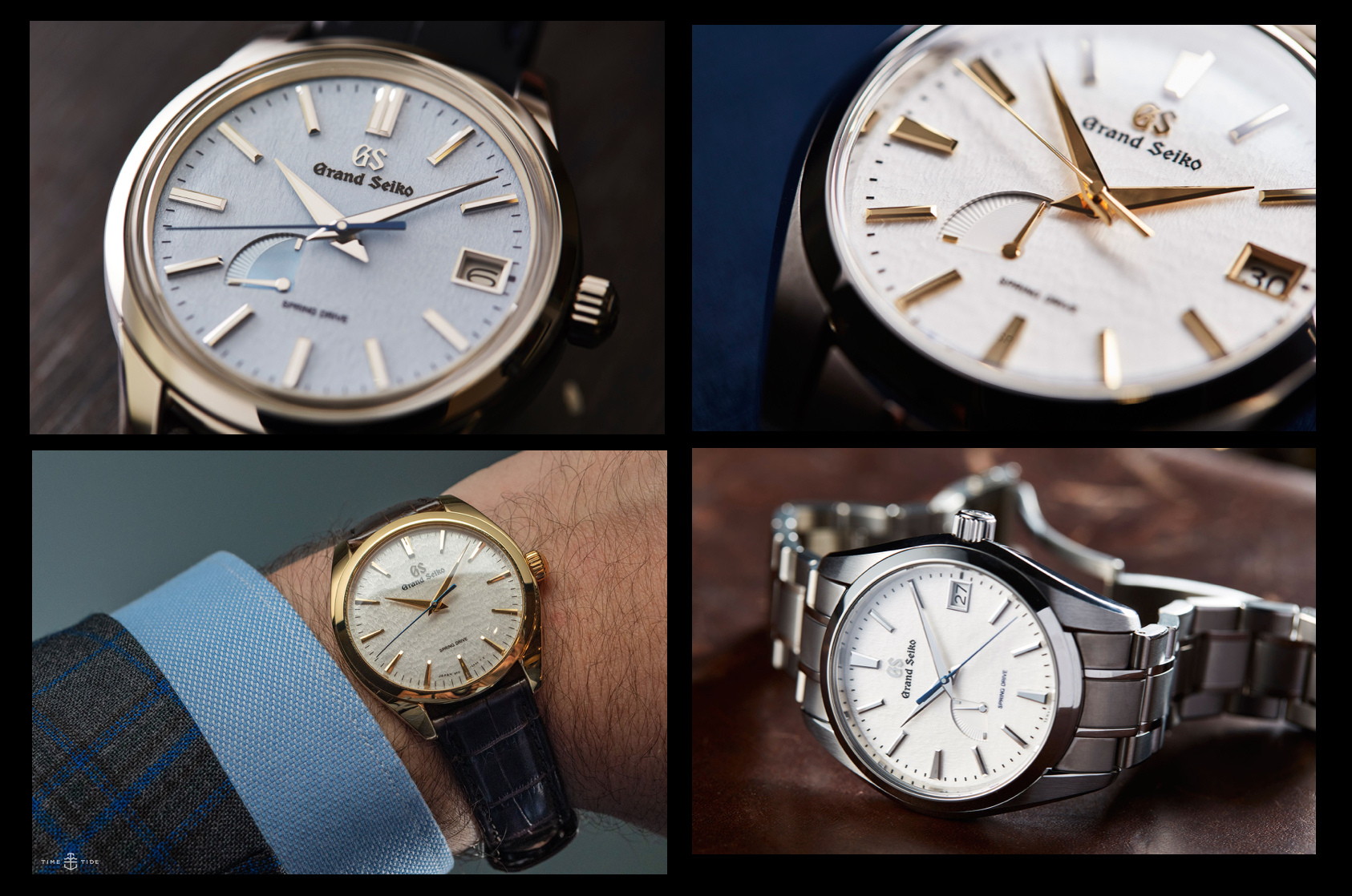Which Grand Seiko Snowflake is right for you? Four models that show the stunning dial's diversity