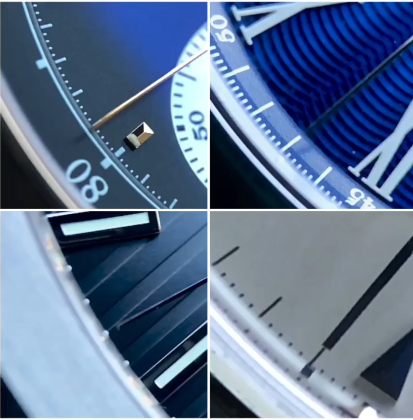 Watch four different vibrations per hour (VPH) in slo-mo, care of the macro maestro @horomariobro