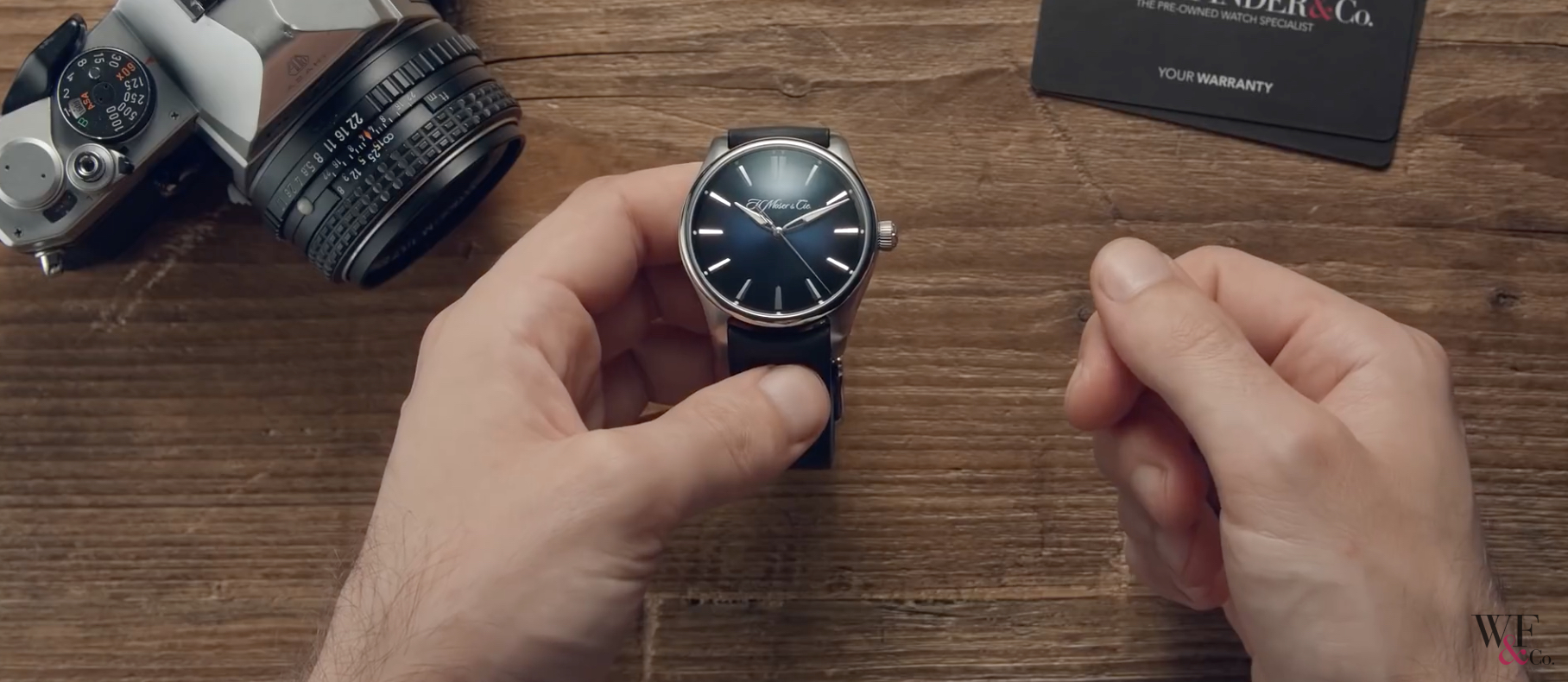 This video about the H. Moser & Cie Pioneer Centre Seconds gave me a hot flush for my own watch