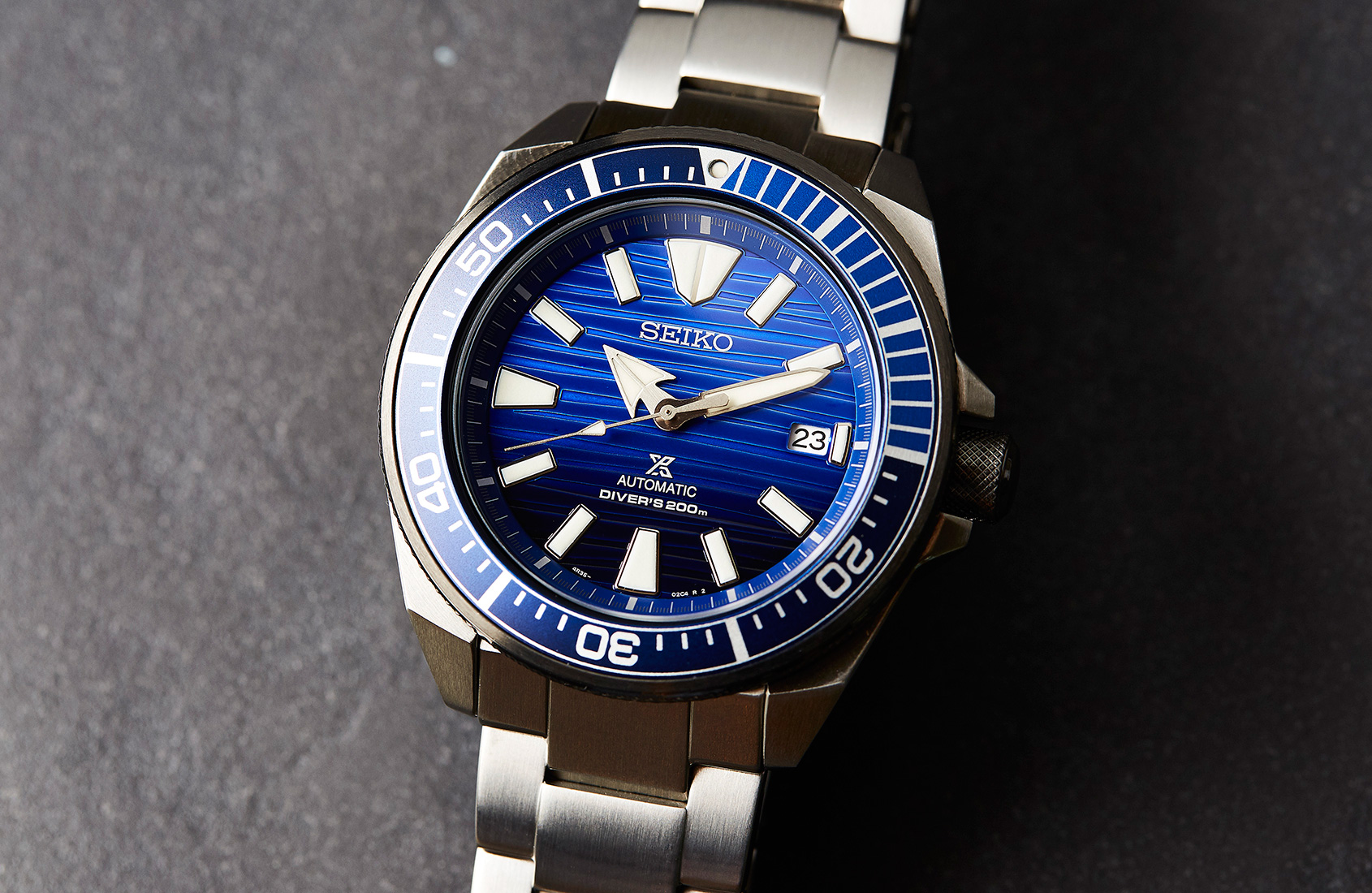 Battle for the blue with the Seiko Samurai 'Save The Ocean' SRPC93K
