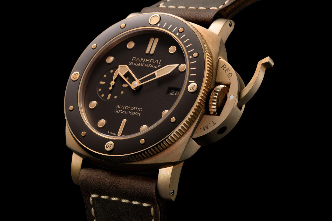 INTRODUCING: The Panerai Submersible Bronzo PAM00968 – Bronze is back and it's no a longer limited edition