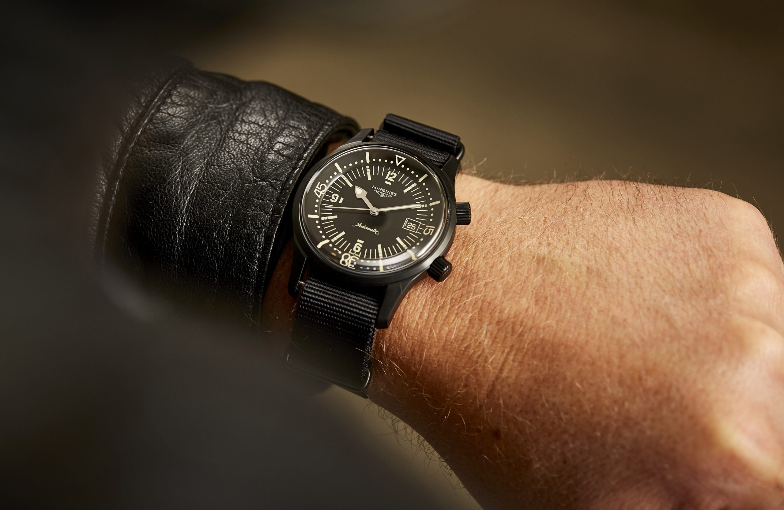 The Australian launch of the Longines Legend Diver at Time and Tide HQ in Melbourne was our blackest event yet