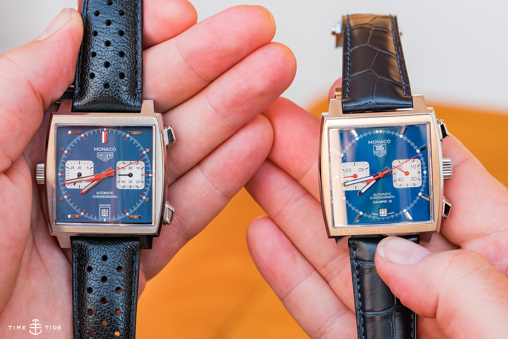 VIDEO: Which TAG Heuer Monaco is right for you? The Calibre 11 (CAW211P) vs the Calibre 12 (CAW2111)