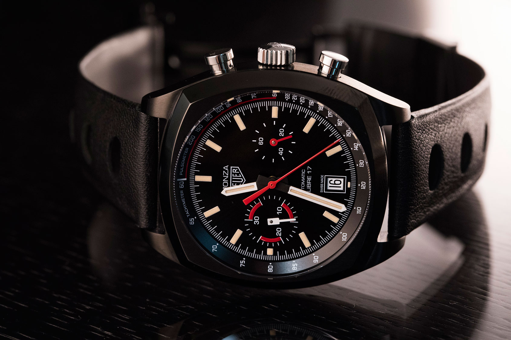 The best watches to wear with black – Part 2, featuring Audemars Piguet, Breitling, Tudor and Bulgari