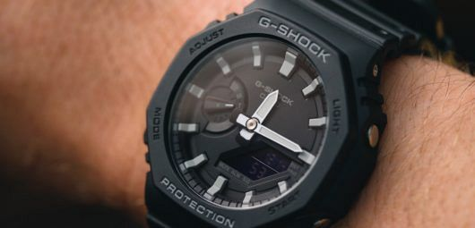 Casio G-Shock GA2100-1A 'CasiOak'