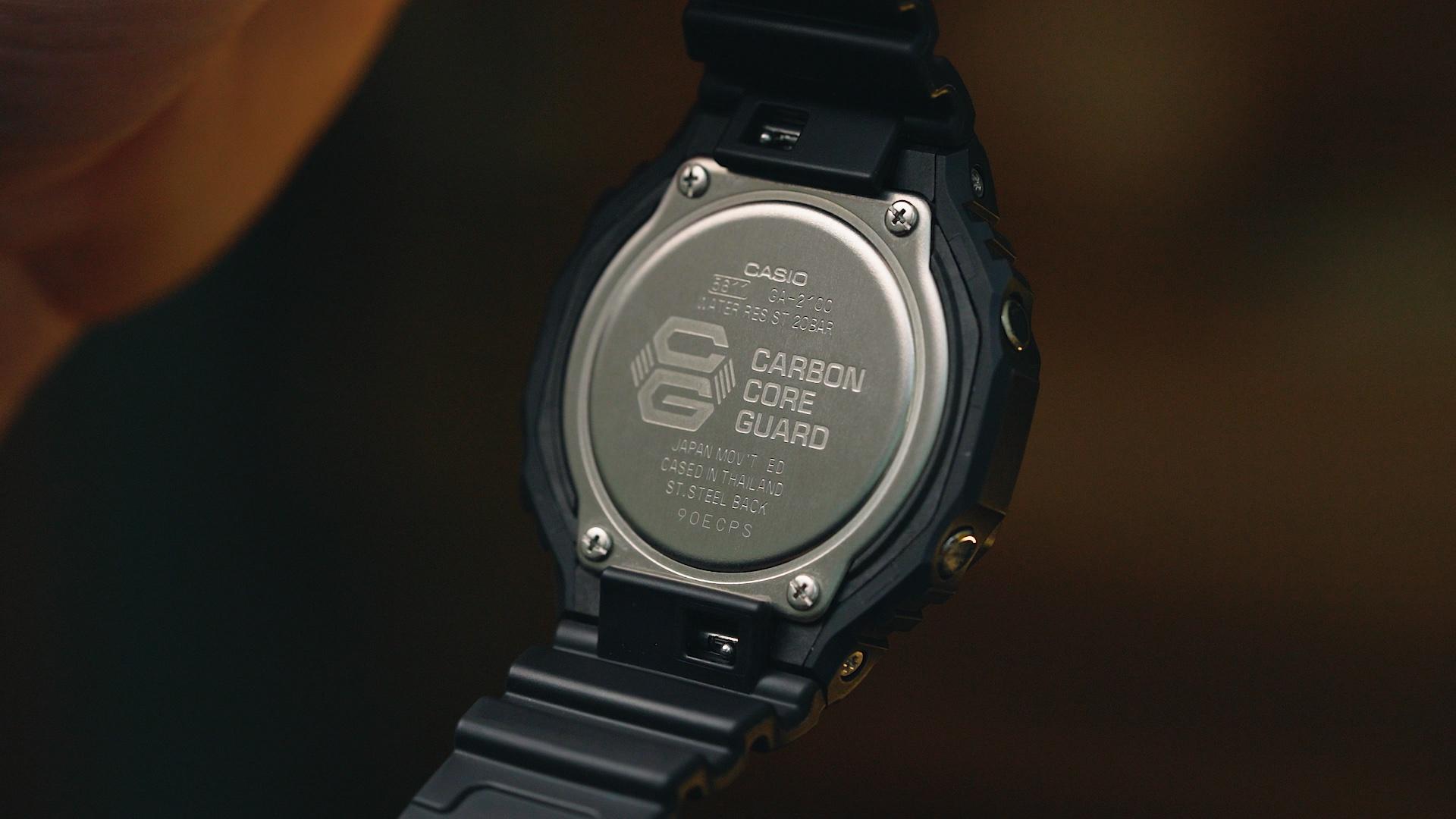 Casio G-Shock GA2100-1A 'CasiOak'