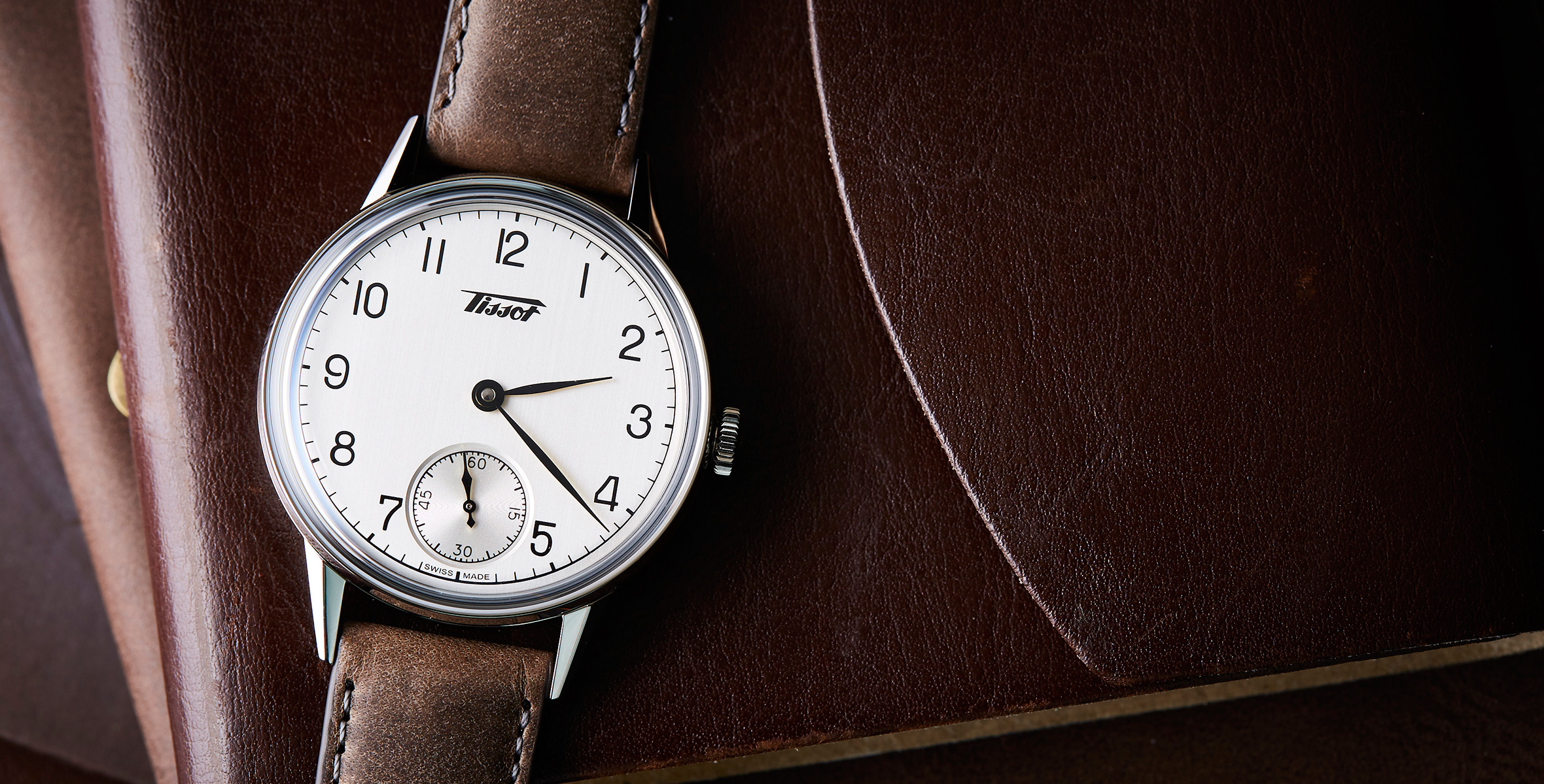 ANNOUNCING: New in the shop, the handsome AF Tissot Heritage Petite Seconde and why we rate it