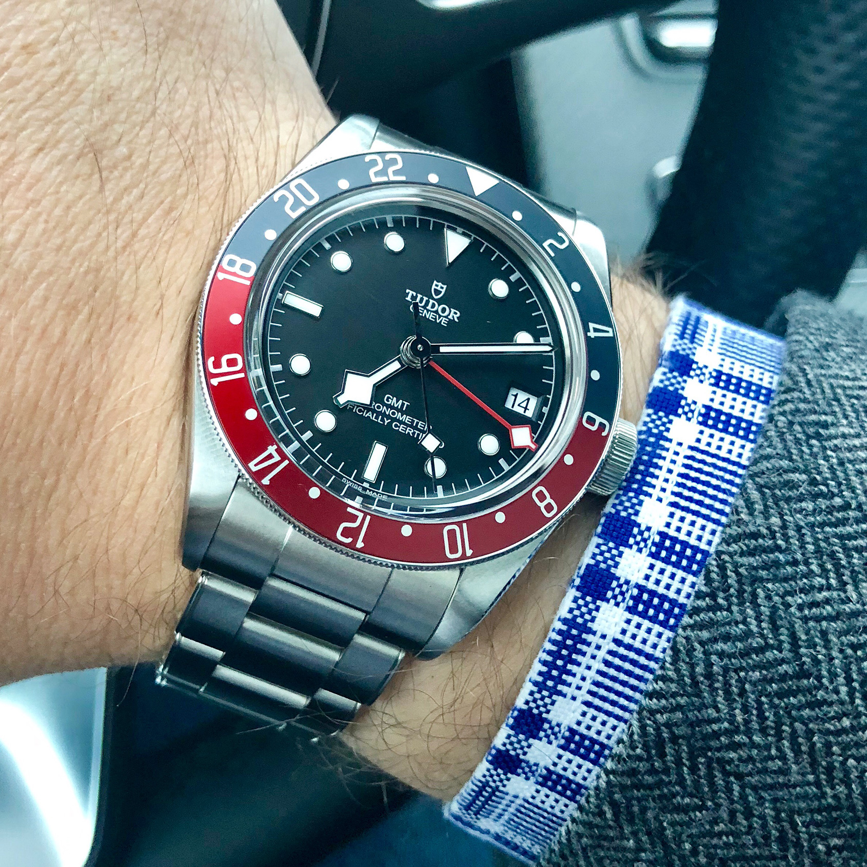 Spending a month with the Tudor Black Bay GMT