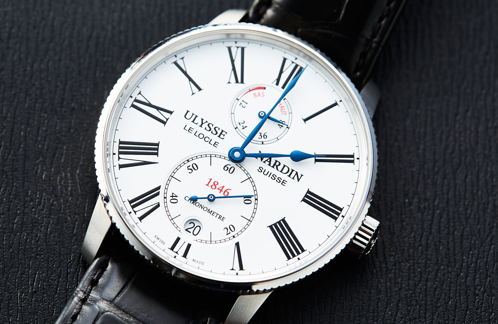 Set sail for glory with the Ulysse Nardin Marine Chronometer Torpilleur