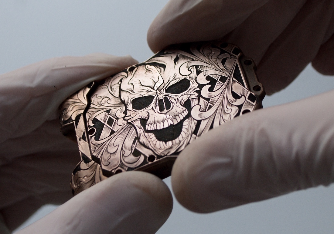 A look into the world of fine watch engraving with King Nerd