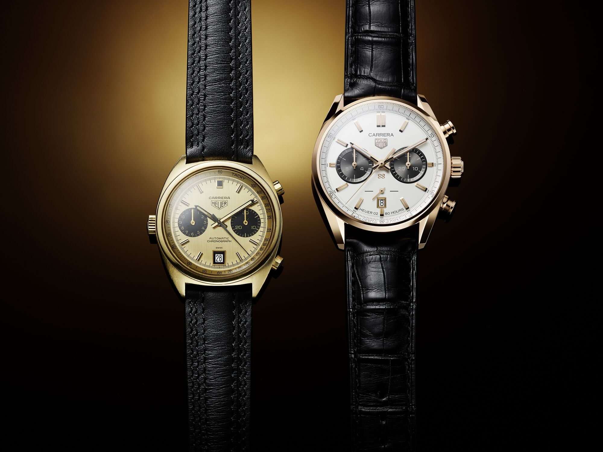 INTRODUCING: Staying golden with the TAG Heuer Carrera Chronograph Jack Heuer Birthday Gold Limited Edition