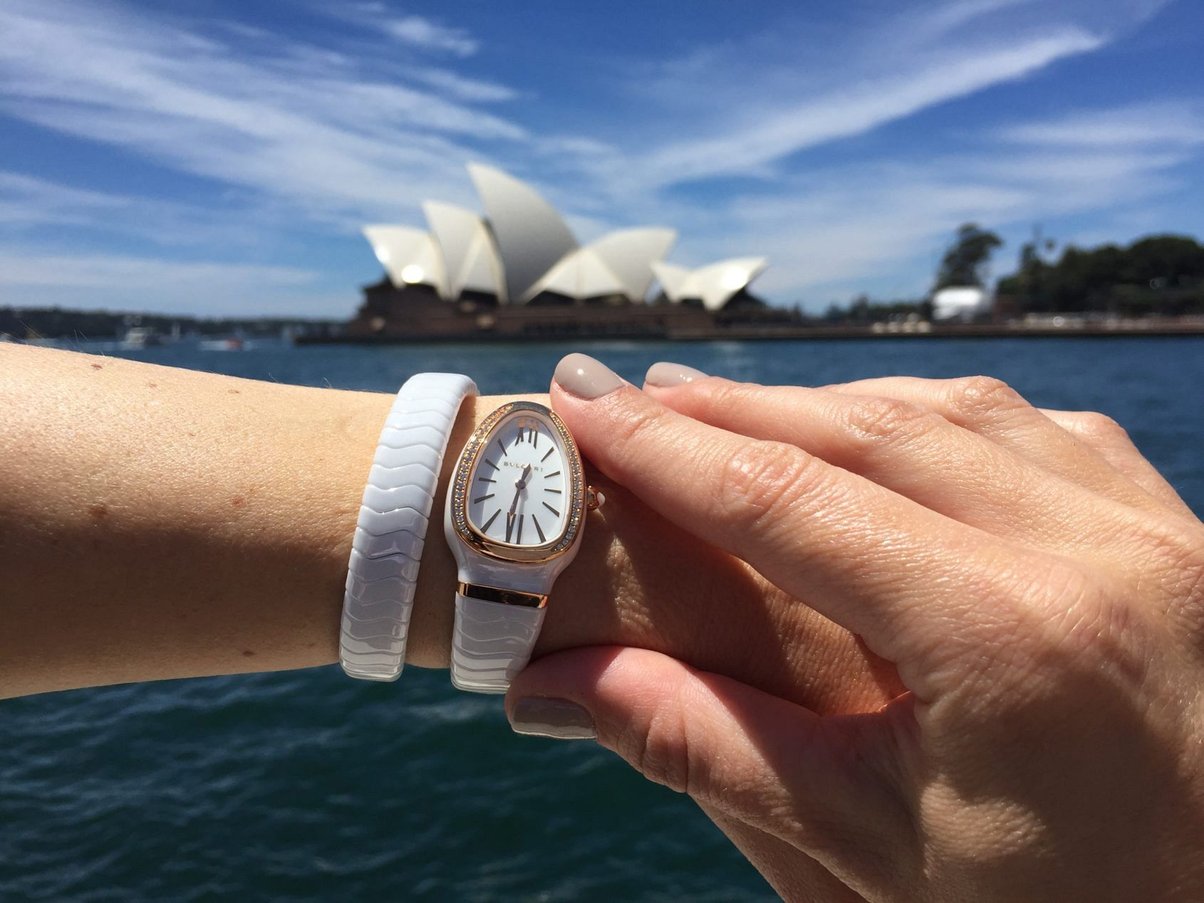 HANDS-ON: Everything's all white – we test the brightest Omega, Bulgari and Rado watches on one Sydney summer day