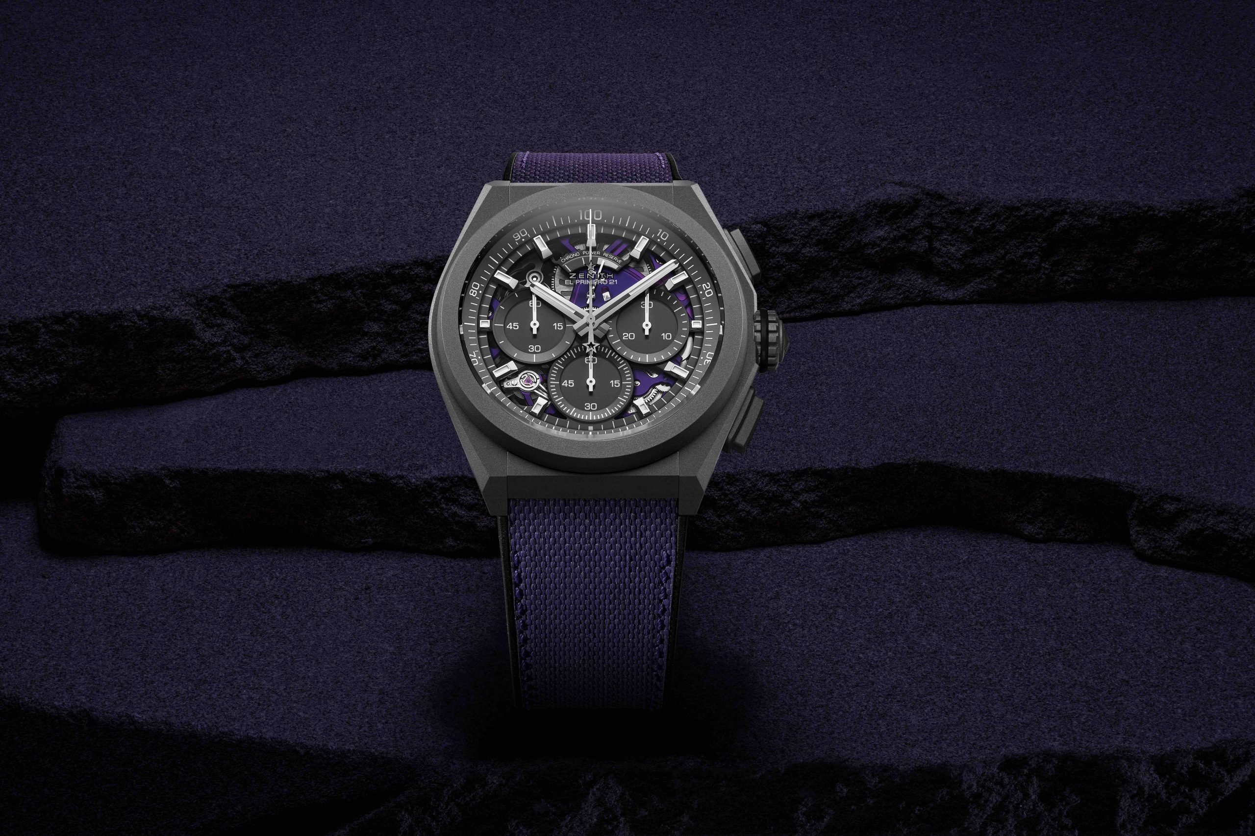 Purple reign, purple reign: Zenith Defy 21 Ultraviolet, a high-frequency colour for a high-frequency chrono