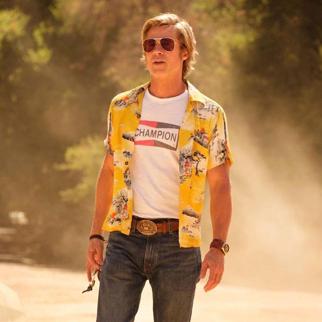 What was Brad Pitt's watch in the latest Tarantino thriller?